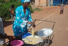 porridge flocons de riz